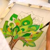 kezdő selyemfestő tanfolyam