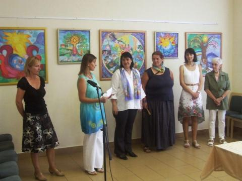 Kiállítás megnyitó, Monor, Vigadó