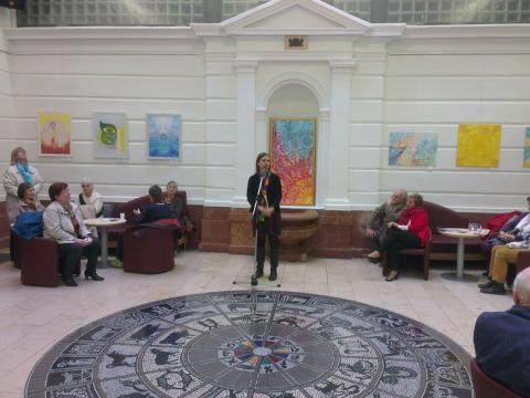 Kiállítás megnyitó, Aranytíz Kultúrház