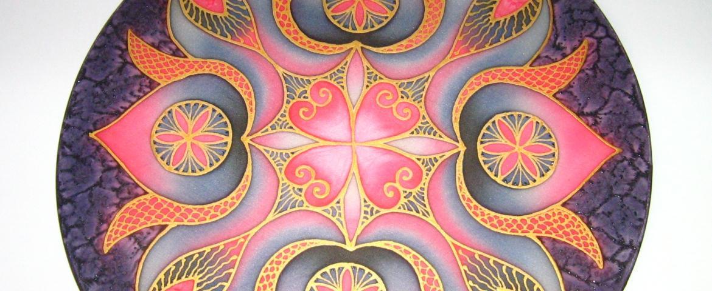 Mandalafestés, mandala részlet