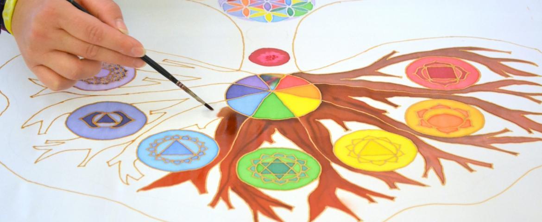 Mandala tanoda - meditációs képalkotás