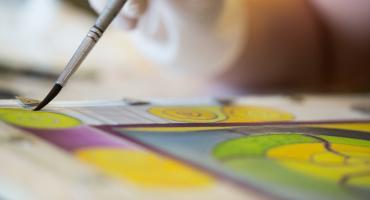 selyemfestő tanfolyam