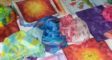 selyemfestő tanfolyami galéria