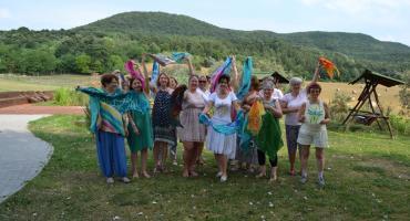 Selyemfestés tábor Piliscsév