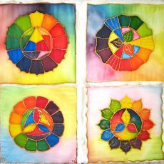 Színkeverés tanfolyam, színkör