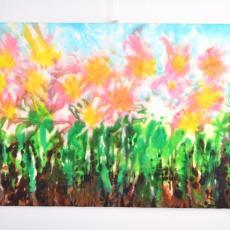 Tavaszi vidámság, 44x60 cm