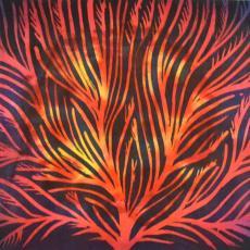 Faágak tűzfényben, 37x25 cm