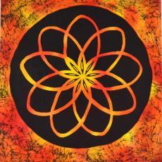 Atomok tánca, 59x62 cm