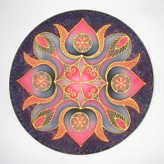 Erő POWER mandala, 30 cm
