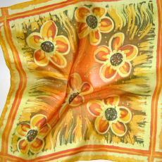 Viaszbatik tanfolyam, selyemkendő