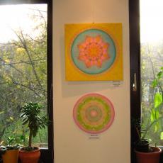 selyemfestmény kiállítás - Virányos