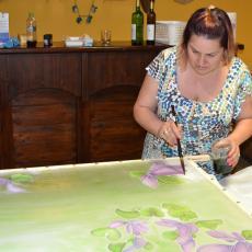 Selyemfestő alkotótábor 2016