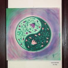 selyemfestmény kiállítás - Gabó képe