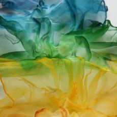 Selyemsál, csakra színekben