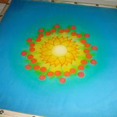Személyre szóló mandala, kifestés