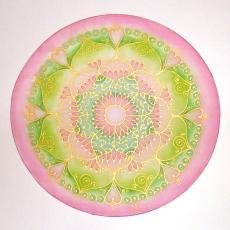 Szeretet mandala, 30 cm