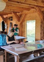 selyemfestő alkotótábor
