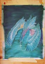 Selyemkép - selyemfestő alkotótábor