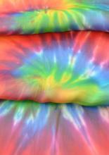 szivárványos selyemsál