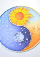 Napos-holdas mandala, Viki tanfolyami alkotása