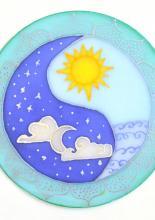 Napos-holdas mandala, Karen tanfolyami alkotása