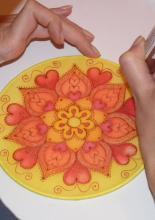 mandalafestő workshop