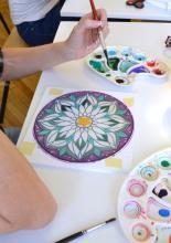 Kezdő selyemfestés