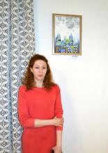 Kiállítás megnyitó Mandala Tanoda, Elvira
