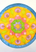 Rákliga mandala festés