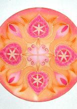 Személyes mandala, 25 cm