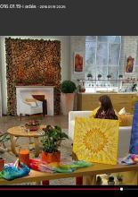 Mandalafestés a tv-ben