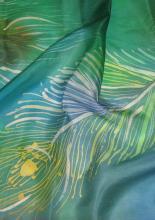 Viaszbatik selyemkendő